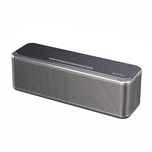 AUKEY Bluetooth スピーカー ワイヤレススピーカー 8W*2ドライバー 内蔵マイク搭載 iPhone、iPad、Samsung、Nexus、ノートパソコンなどに対応 SK-S1