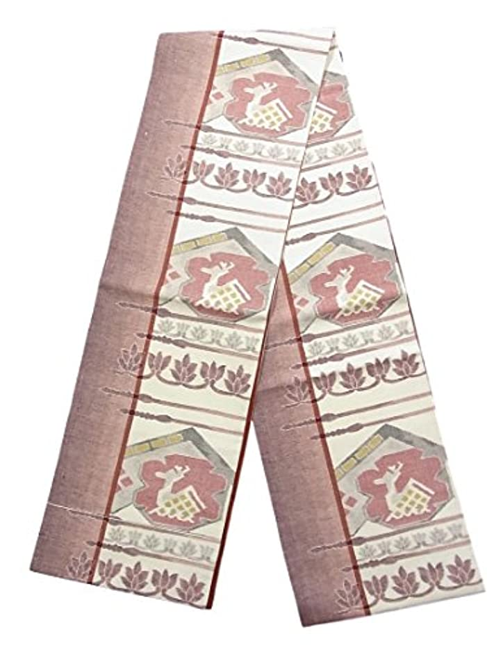 ただやるチョコレート必須リサイクル 全通 袋帯 紬 有栖川 装飾文様 正絹