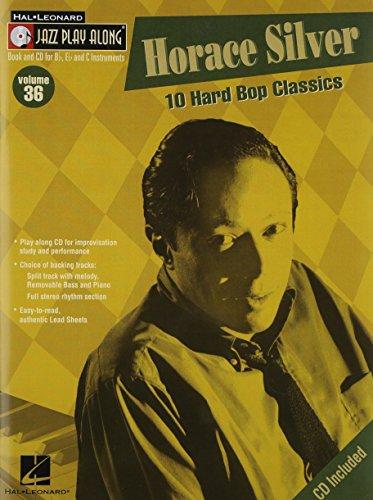 ジャズ・プレイ・アロング 第36巻: ホラス・シルヴァー: カラオケ & 伴奏CD付/ハル・レナード社/ピアノ/ヴォーカル/ギター