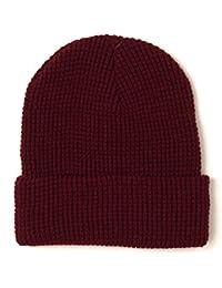 (ニューヨークハット) NEW YORK HAT #4647 WAFFLE CUFF ワッフルニットキャップ [並行輸入品]