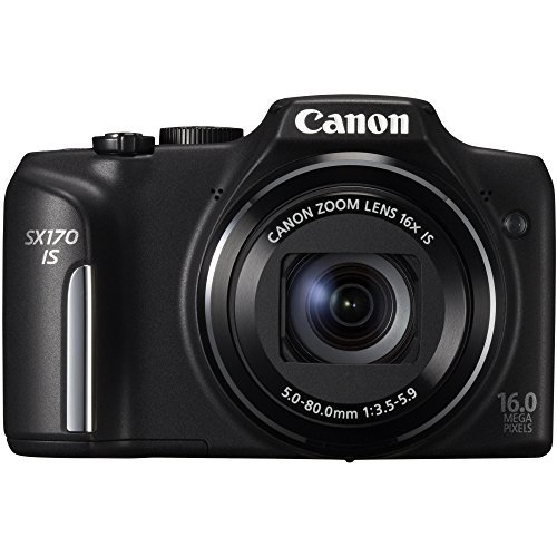 Canon PowerShot sx170 is 3インチL...