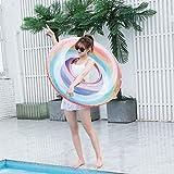 インフレータブルフローティングロー スイカデザイン 環境PVC 水のおもちゃ ハンモックラウンジャー 遊び場でのビーチバケーションパーティー
