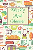 Weekly Meal Planner: 52-Week Meal Planning Notebook with Weekly Grocery Shopping List To Do List
