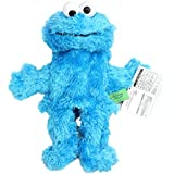 """[Generic] Sesame Street Elmo Plush Hand Puppet Play Games Doll Toy Puppets Blue Height:35cm/13.79"""""""