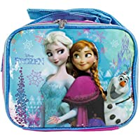Disney Frozen Anna and Snow Queen Elsa with Olaf Lunch Snack Bag