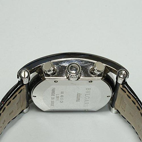 [ブルガリ] BVLGARI 腕時計 アショーマ クロノグラフ 革ベルト AA48SCH メンズ 中古