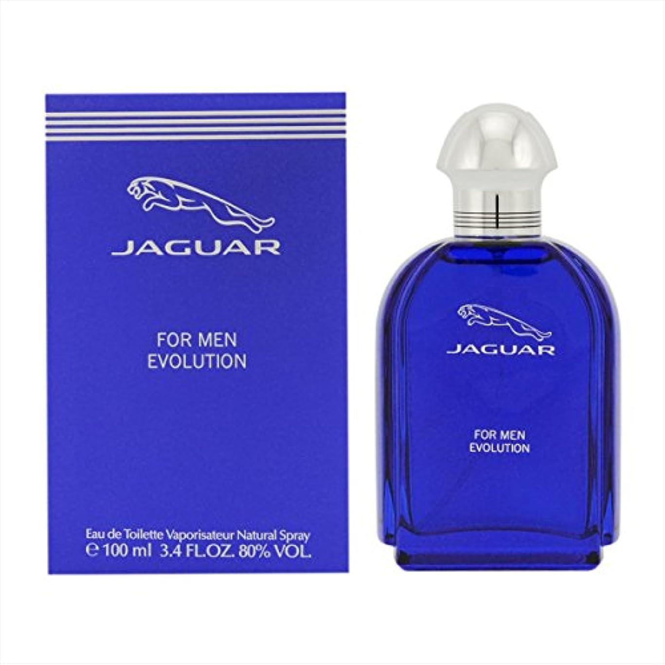 グラマー豊かにする終点ジャガー 香水 JAGUAR ジャガー ジャガーフォーメン エボリューション EDT/100mL 並行輸入品