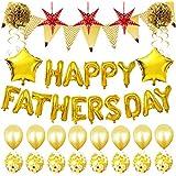 Stogis 風船 父の日バルーン アルミ風船セット 16インチ Happy Father's Day 気球 バルーン 飾り付け 部屋装飾 祝い 装飾 華やか おしゃれ 誕生日パーティーデコレーション パーティー用品