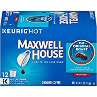 Maxwell House Original Blend Coffee, Medium Roast, K-Cup Pods, 12 count