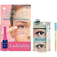 Ledouble [ルドゥーブル] 二重まぶた化粧品 (2mL) +コスマージュ アイライナー消しゴム