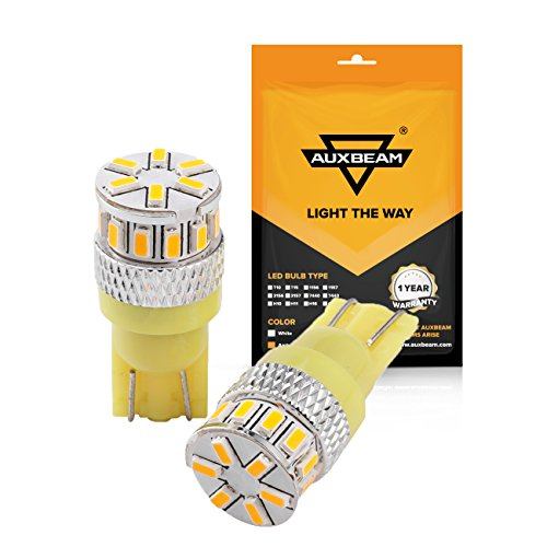 Auxbeam T10爆光LEDバルブ2W 12V 24V ...