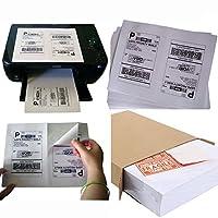 MFLABEL 1000 Half Sheet Laser/Ink Jet Shipping Labels for UPS USPS FedEx [並行輸入品]