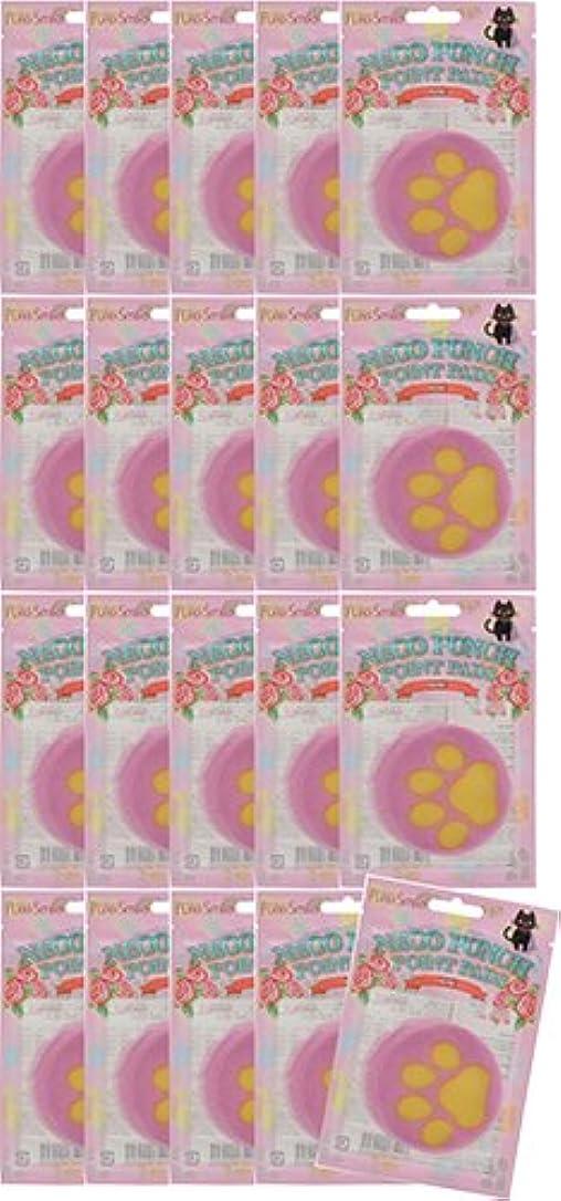 壁紙レンチ価値ピュアスマイル ネコパンチポイントパッドロ-ズ10シ-ト 20枚セット