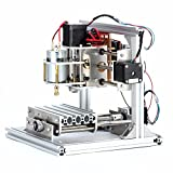 DIY CNCルータキット CNC1310 ミニフライス盤 USBデスクトップ彫刻機、木材、木工用 - 3 Axis Engraver Machine PCB Milling Wood Carving Router Kit