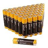 (シリコンパワー) Silicon Power単4アルカリ電池 40本入り 1.5V 漏れ防止保護加工済み (SPAL03ABAT40PV1KAE)