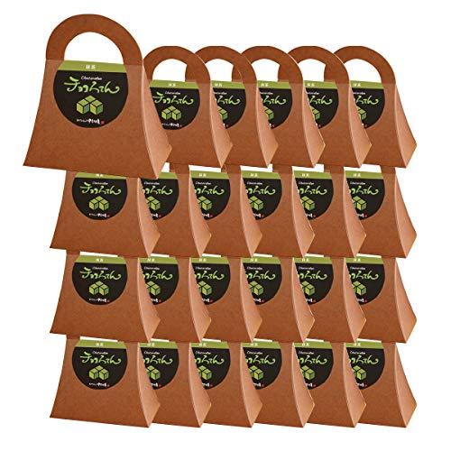 伊豆河童 チョコろてん 24個セット チョコ抹茶味 (抹茶入り角心太95g チョコソース12.5g×2)×24 冬ギフト 向け