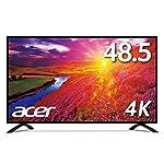 Acer モニター ディスプレイ EB490QKbmiiipx (48.5インチ/IPS/4K/HDMI v2.0 x1、HDMI v1.4 x2、DisplayPort v1.2/スピーカー付)