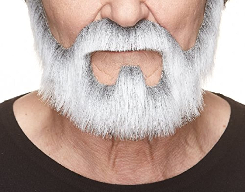 [マスタック]Mustaches On bail gray with white beard by 9109083 [並行輸入品]
