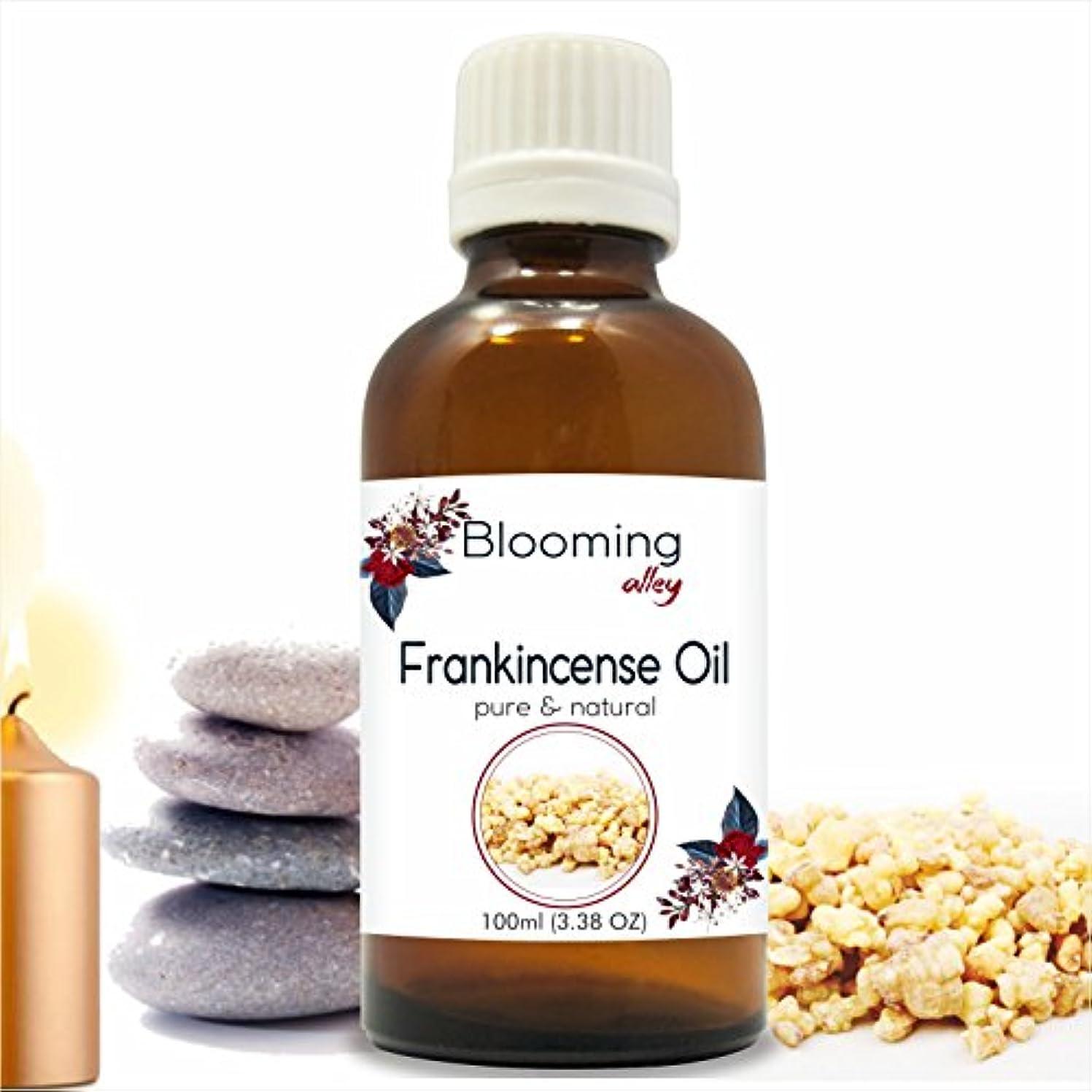 バージン個性最も早いFrankincense Oil (Boswellia Carteri) Essential Oil 100 ml or 3.38 Fl Oz by Blooming Alley