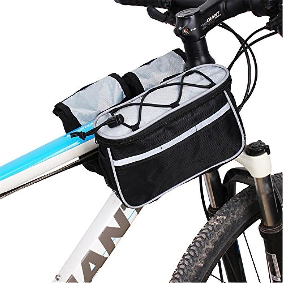 発動機レビュアーエロチックサイクリングバッグ防水自転車パニエアウトドアスポーツタッチスクリーン電話バッグバイクフロントフレームバッグmtbマウンテンバイクサドルバッグ サドルバッグ?フレームバッグ