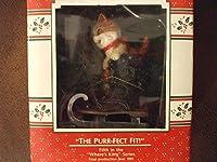 The Purr-fect Fit Ornament【クリスマス】【ツリー】 [並行輸入品]