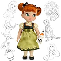 Disney USディズニー公式アナと雪の女王 アナ オラフ付 人形 アニメーターコレクションドール フィギュア 並行輸入品