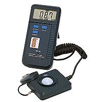 カスタム (CUSTOM) デジタル温度計 ~20000Lux セパレート型センサー LX-1330D
