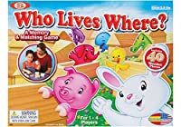 [Cadaco]Cadaco Ideal Who Lives Where Wooden Memory and Matching Game 596 [並行輸入品]