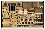 フジミ模型 1/72 ミリタリーシリーズ No.204 陸上自衛隊 99式自走155mm榴弾砲 純正エッチングパーツ プラモデル用パーツ