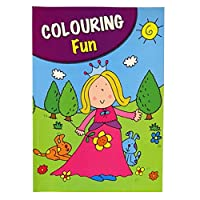 Girls A4 Colouring Book - 60 Pages - Princess - Book 1 - by Pennine