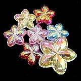 アクリルアイス  花型  ネオン(1kg)  / お楽しみグッズ(紙風船)付きセット