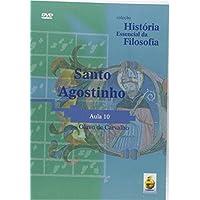 Santo Agostinho. Aula 10 - Coleção História Essencial Da Filosofia (+ DVD)