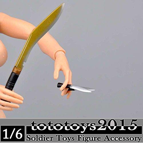 lehangkh ドラゴンDMLトイズ1/6スケールWWII英国グルカkhukuriグルカクックリ刀ナイフモデル