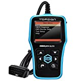 Topdon Elite OBD2 故障診断機 ABS SRS 車 自動車 OBD 診断機 スキャンツール コードスキャナー リーダー