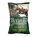 Tyrrell's Sea Salt and Cider Vinegar Potato Chips, 150g
