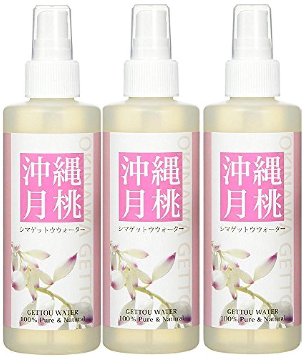 アレルギー赤字ニコチン日本月桃 シマゲットウウォーター (100%天然成分ハーブ水) 200ml 3本