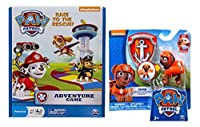 Paw Patrol Adventure Game with Action Pack Pup & Badge - Zuma