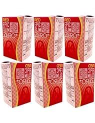 レッド エピックスリム ゼロ レッド 6個セット!  Epic Slim ZERO RED ×6個