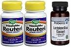 テレビで話題の生きる乳酸菌(Lロイテリ菌とガセリ菌)Reuteri・Gasseriのお得なセット (50億個Lロイテリ菌30粒×2・30億個ガセリ菌60粒)