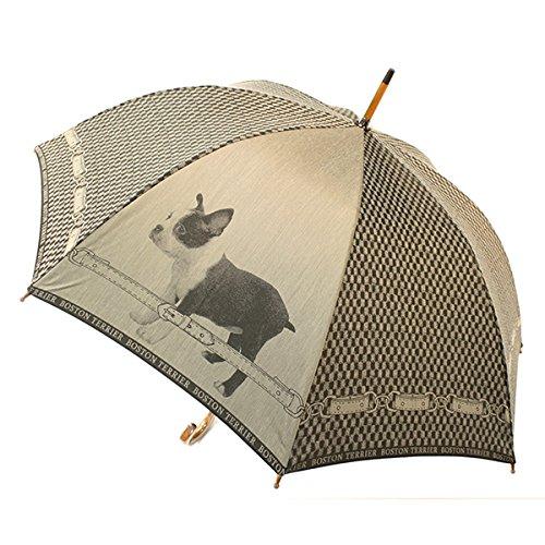 傘 傘寿 プレゼント 「NHK BSプレミアム 『イッピン』で紹介されました!」 仔犬 槙田商店 甲州織 -仔犬- cucciolo 『boston terrier』 02661322【敬老の日】