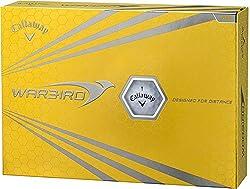 Callaway(キャロウェイ) WARBIRD ゴルフボール 2015モデル 1ダース 12個入り ホワイト