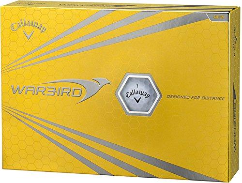 Callaway(キャロウェイ) WARBIRD ゴルフボール 2015モデル 1ダース 12個入り (ホワイト)