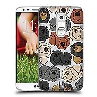 Head Case Designs ペキニーズ ドッグブリード・パターンズ 5 ソフトジェルケース LG G2 / D800 / D802 / D801