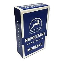 Napoletaneブルーソリッドバックカラーイタリア地域デッキ40Playing Cards Naples