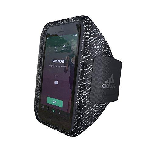 【アディダス公式ライセンスショップ】アディダスパフォーマンス iPhone 6/6S/7ケース アームバンド ランニング スポーツ ブラック [adidas Performance - Sport Armband iP6/6S/7 - Black]