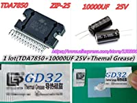 TDA7850 ZIP-25 TDA 7850 + (1pcs 10000UF 25V capacitor +1bag thermal grease) new and In Stock