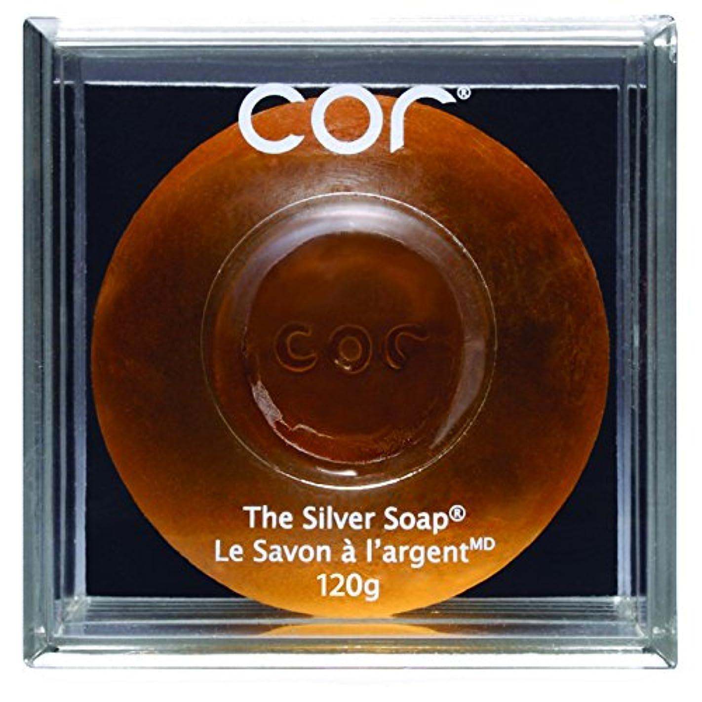 軽蔑するスティーブンソン直接Cor Silver Soap - 120 G (並行輸入品) [並行輸入品]