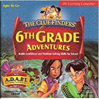 Clue Finders 6th Grade Adventures w/ADAPT (輸入版)