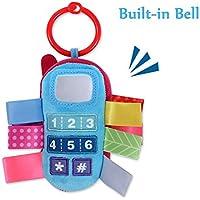 ベビーラトル玩具キッズベビーカーハンギングベル携帯電話ハンドベルベビーカーベビーベッドベビーカーのおもちゃ