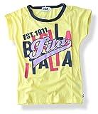 (フィラ) FILA ドルマンスリーブtシャツ キッズ 半袖 スポーツ ダンス衣装 ジュニア 130cm FG22561【13.イエロー】